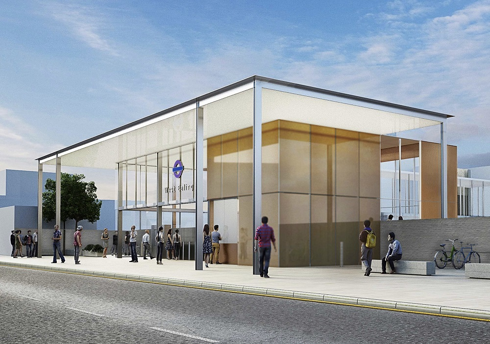 West Ealing has green light fro Crossrail