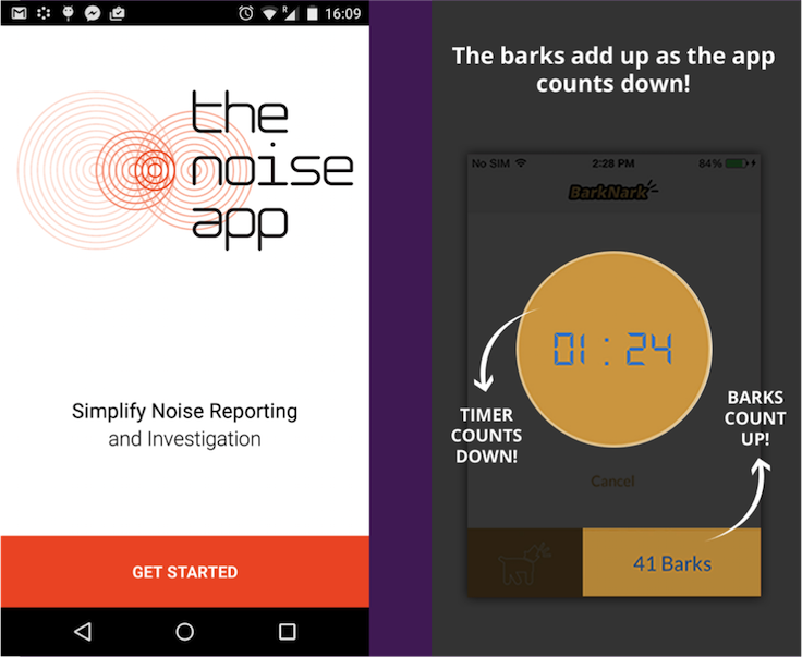 noise nuisance apps