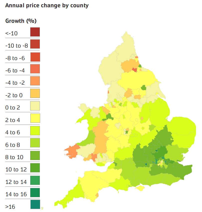 ONS September house prices statistics