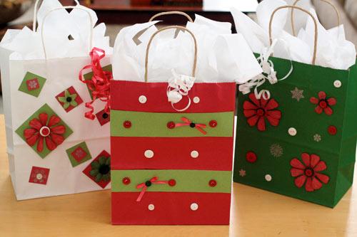 Christmas Gift Bags Jen Goode
