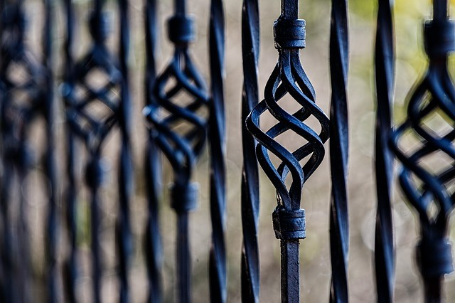 Painting gates to improve curb appeal