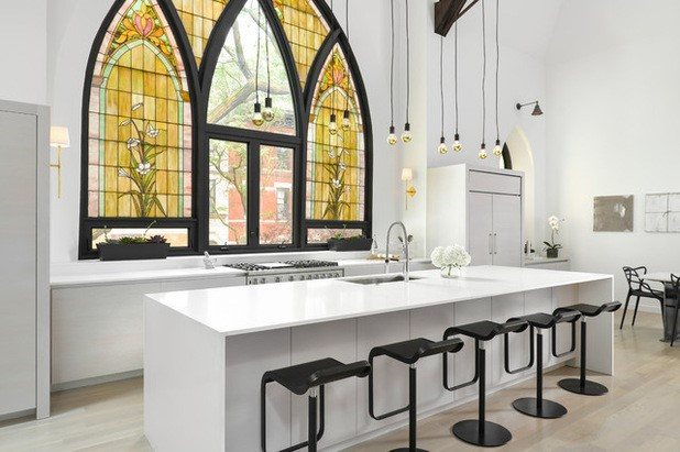 Converted Church Kitchen