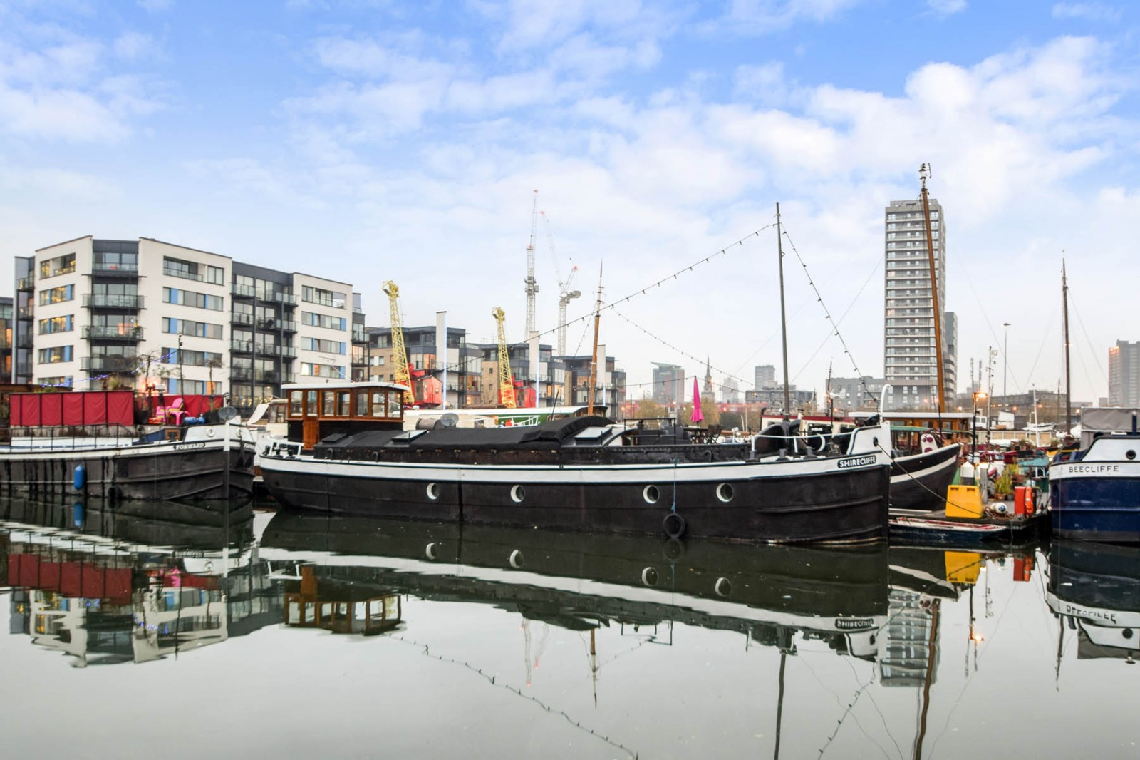Blackwall barge stamp duty alternatives