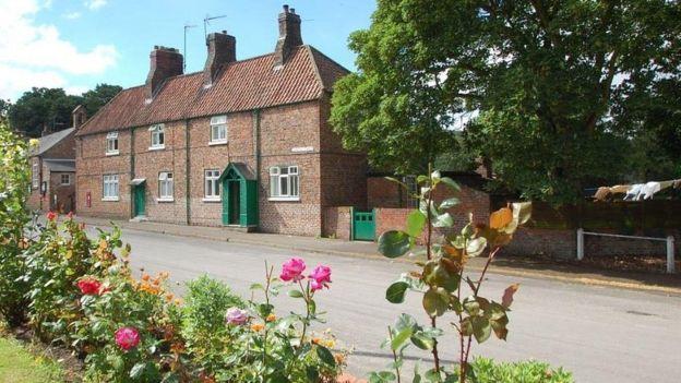 West Heslerton houses credit Cundalls