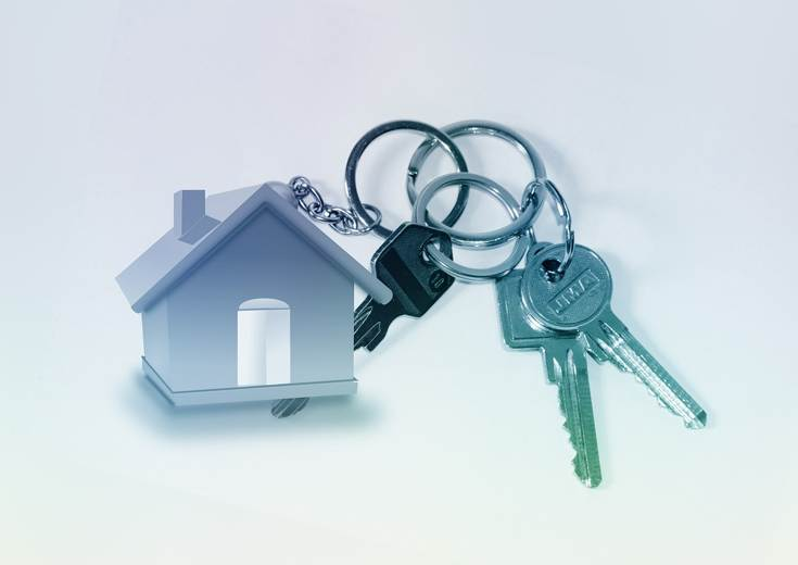 keys to new property